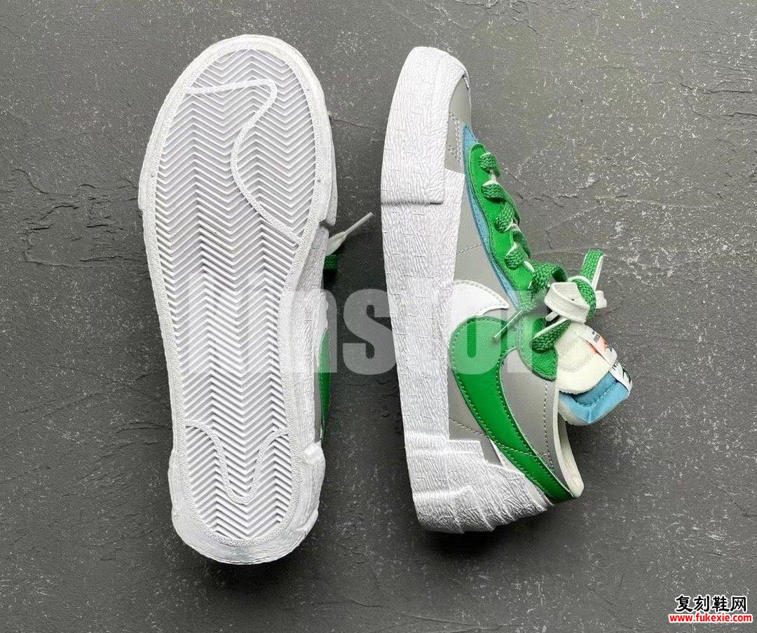 Sacai Nike Blazer Low Medium Gray Classic Gray DD1877-001发售日期信息