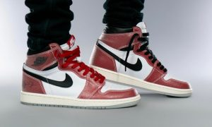 奖杯室Air Jordan 1 Chicago DA2728-100 On-Feet