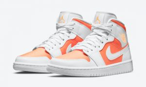 Air Jordan 1 Mid SE Bright Citrus CZ0774-800发售日期