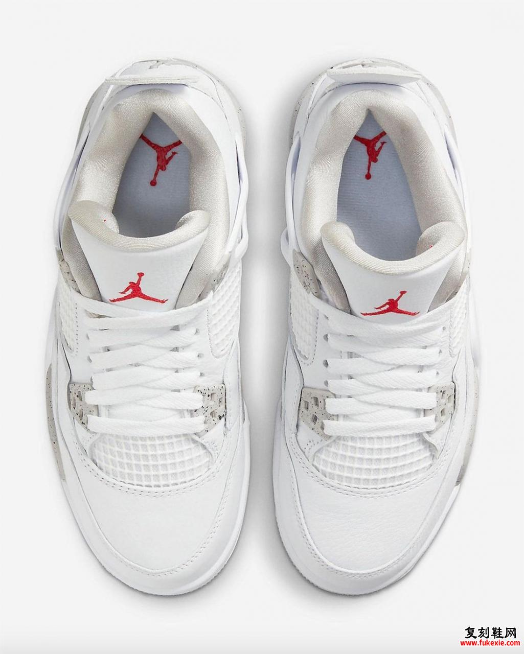 Air Jordan 4 White Oreo GS发售日期