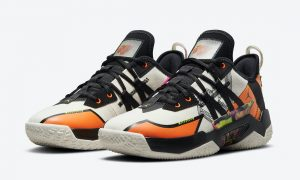 Jordan Westbrook One Take II Orange Sail CW2457-108发售日期
