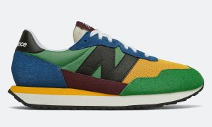 New Balance 237 Blue Team Gold发售日期信息