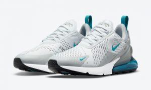 Nike Air Max 270白色灰色蓝色DM2462-002发售日期