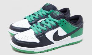 Nike SB Dunk Low Classic Green BQ6817-302发售信息价格