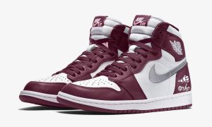 Air Jordan 1 White Bordeaux Metallic Silver 555088-611发售日期