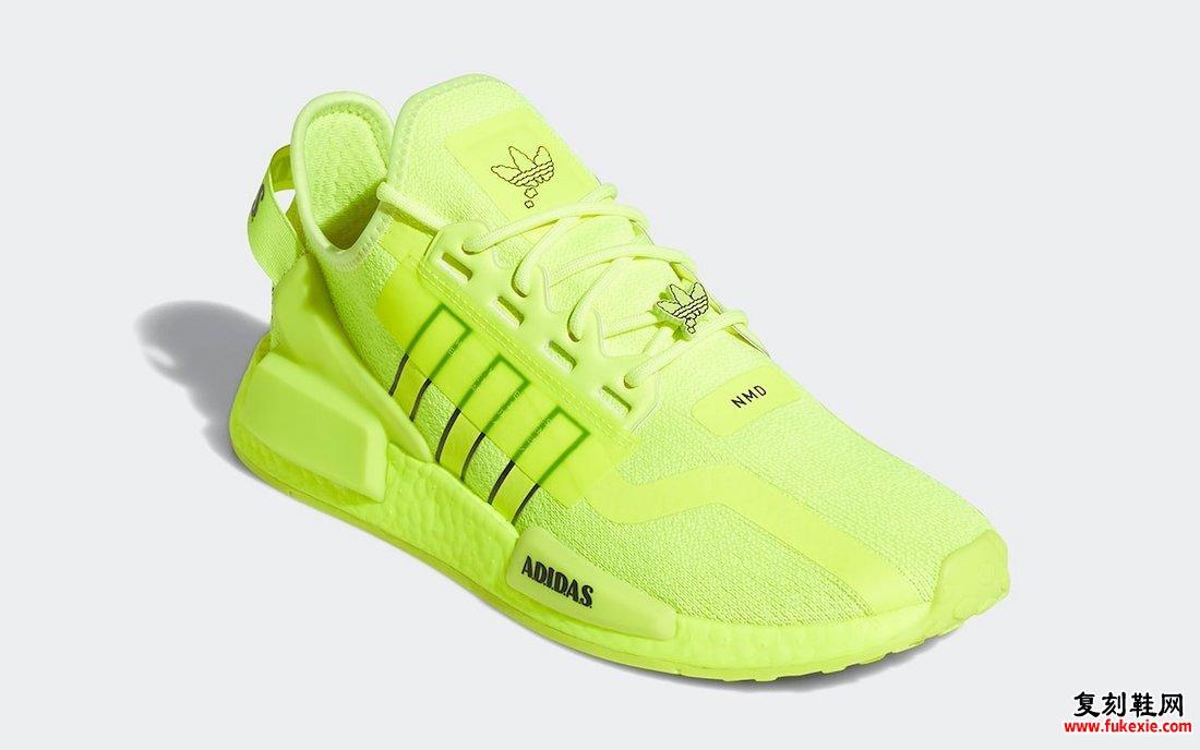 adidas NMD R1 V2太阳黄H02654发售日期