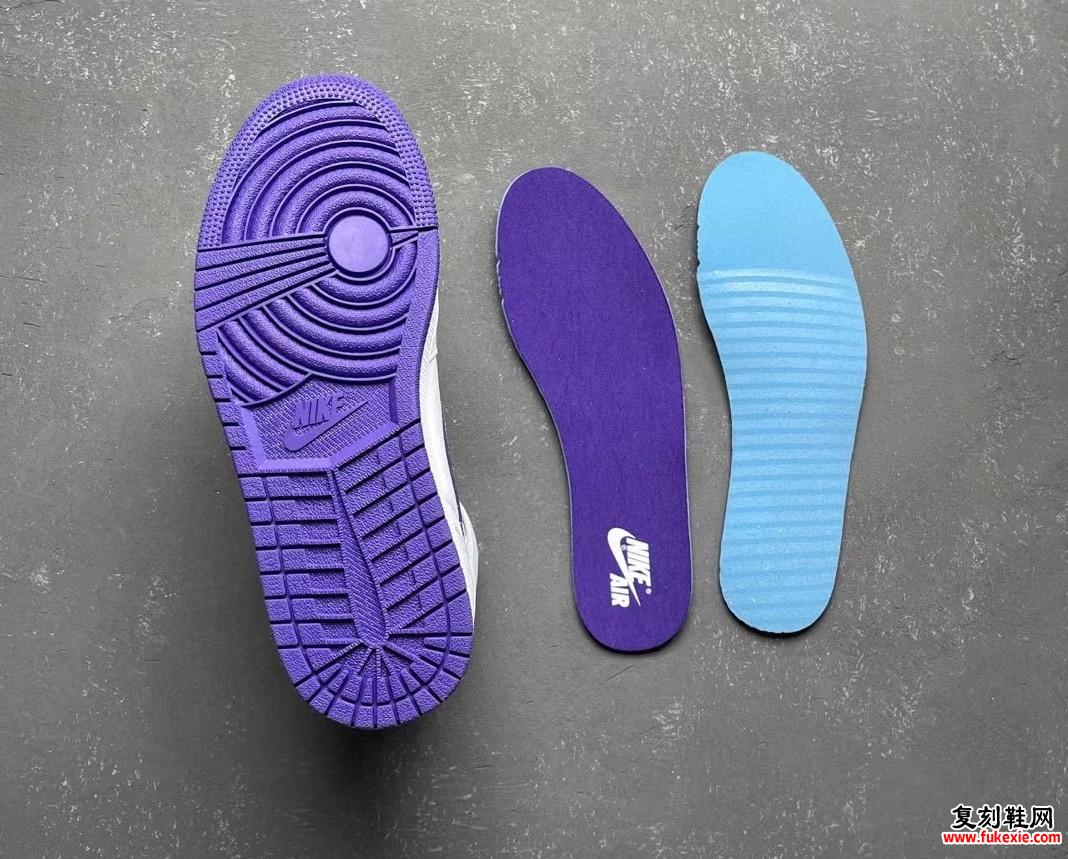 Air Jordan 1 WMNS Court Purple CD0461-151发售信息