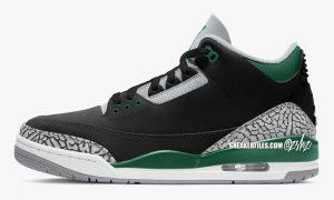 Air Jordan 3 Pine Green Celtics CT8532-030发售日期
