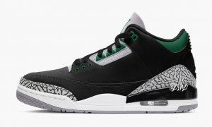 Air Jordan 3 Pine Green发售日期