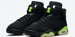 Air Jordan 6 Electric Green Kids 384665-003