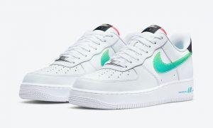 Nike Air Force 1 Low White Green Pink DJ5148-100发售日期