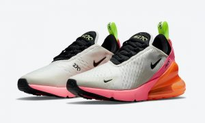 Nike Air Max 270 Cream Black Pink Volt Orange DJ5997-100发售日期