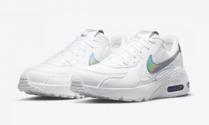 Nike Air Max Excee White Iridescent DJ6001-100发售日期