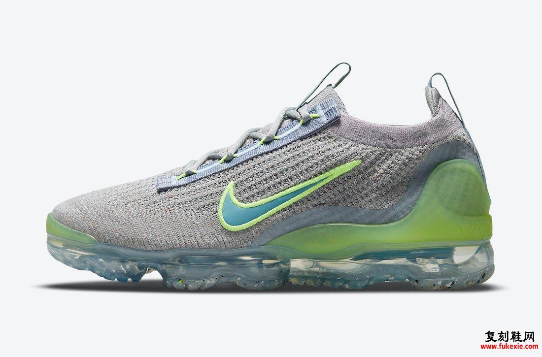 Nike Air VaporMax 2021 Grey Neon DH4084-003发售日期