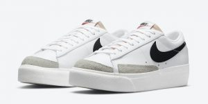 Nike Blazer Low Platform White Black DJ0292-101发售日期信息