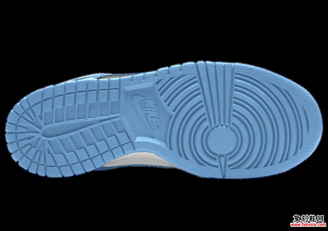 Nike Dunk Low University Blue DD1391-102发售日期