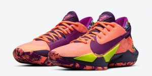 Nike Zoom Freak 2 Bright Mango CW3162-800发售日期