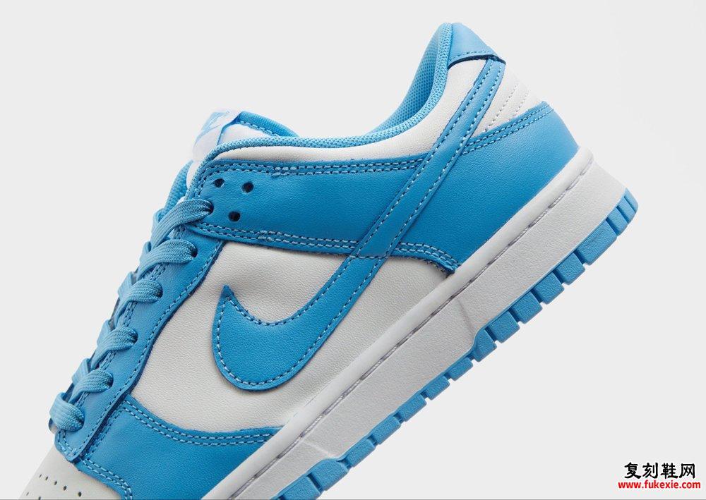 University Blue Nike Dunk Low DD1391-102发售信息价格