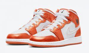 Air Jordan 1 Mid GS White Orange DM4228-800发售日期