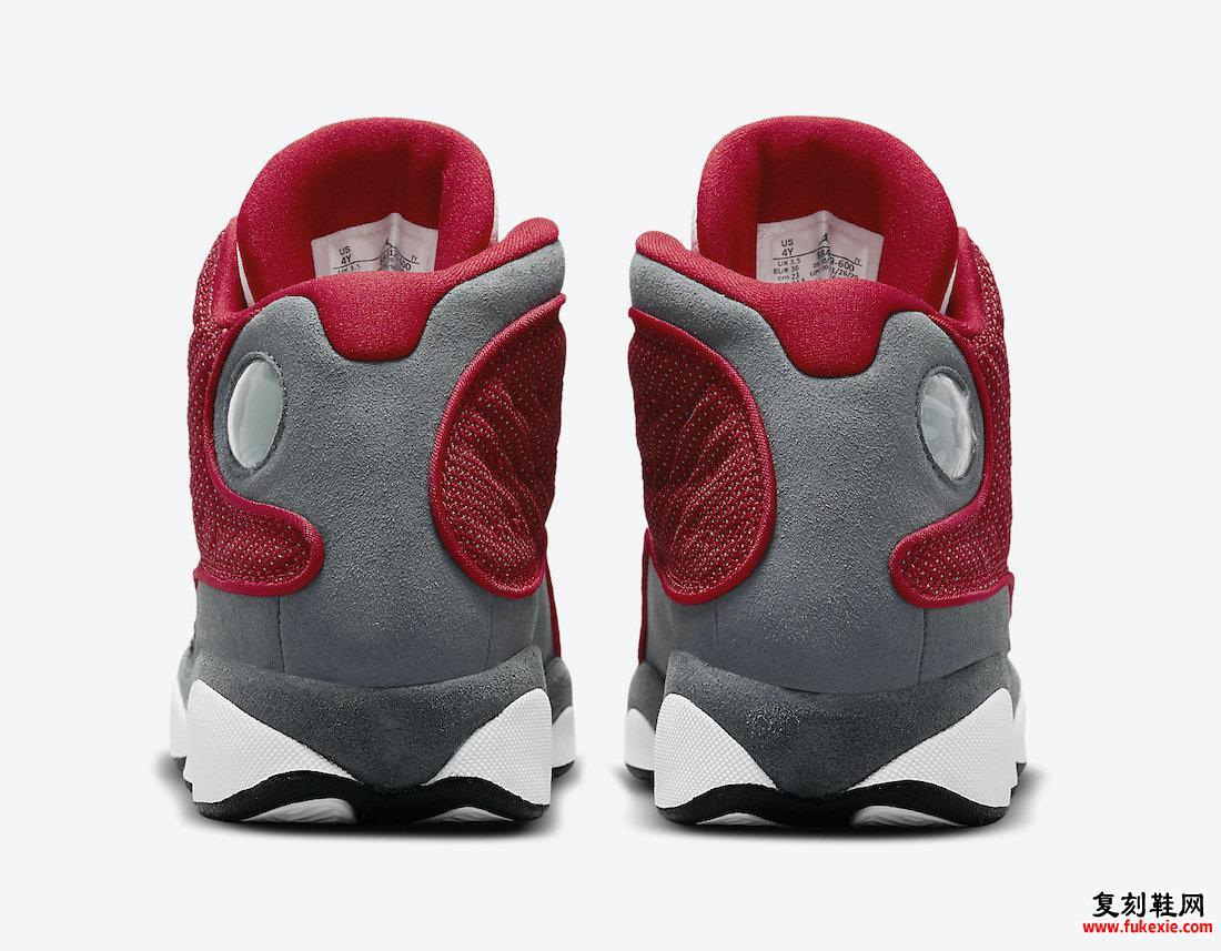 Air Jordan 13 Red Flint GS 884129-600发售日期