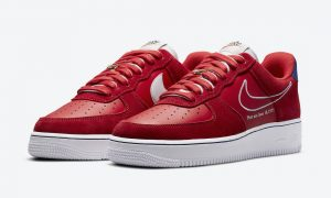 Nike Air Force 1 Low University Red White Deep Royal Blue DB3597-600发售日期
