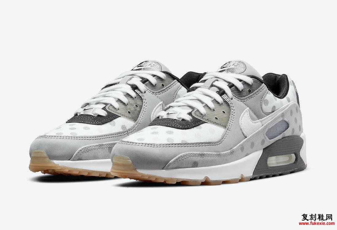 Nike Air Max 90 Summit白色灰色雾黑色CZ1929-100发售日期