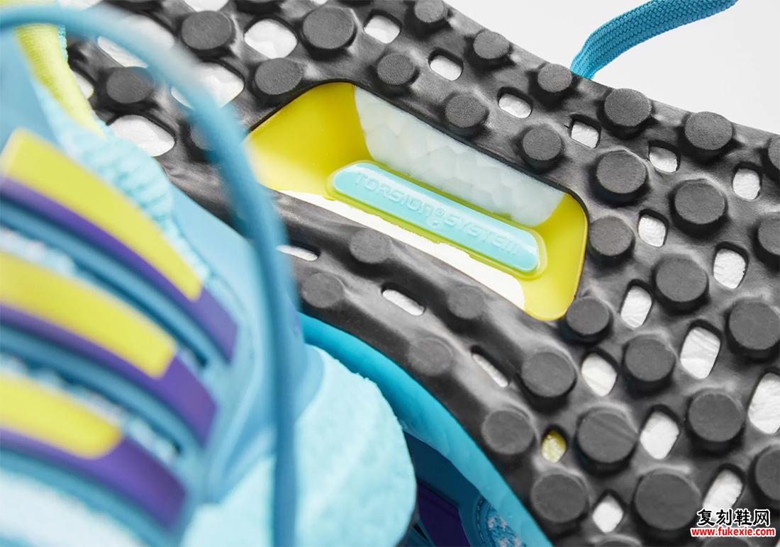adidas Ultra Boost DNA 1.0 Aqua ZX 8000 H05263发售日期
