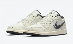 Air Jordan 1 Low Paint Splatter笔触Swoosh DM3528-100发售日期