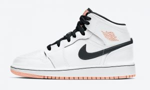 Air Jordan 1 Mid GS Arctic Orange 554725-180发售日期
