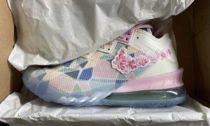 耐克Nike LeBron 18 Low Sakura发售日期
