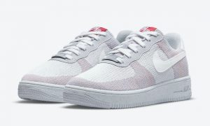 Nike Air Force 1 Crater Flyknit Wolf Gray DH3375-002发售日期
