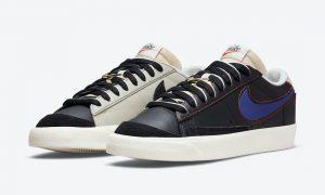 Nike Blazer Low Removable Swoosh Logos DH4370-001发售日期信息