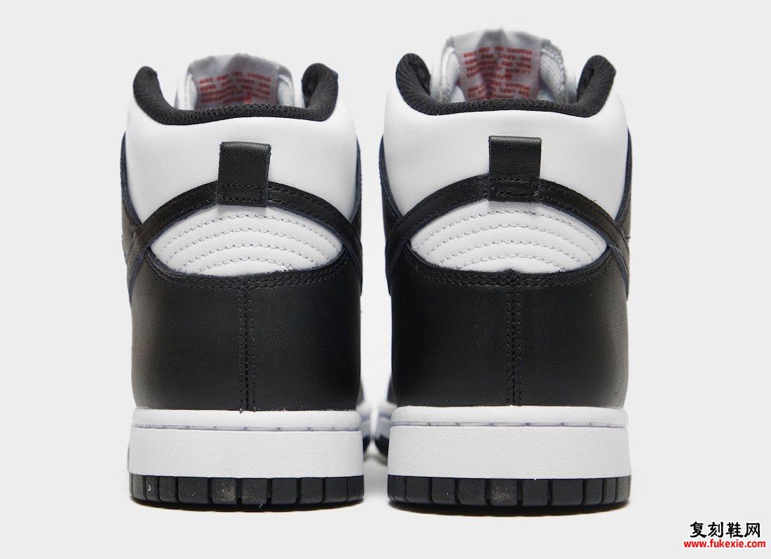 Nike Dunk High White Black University Red DD1869-103发售日期信息
