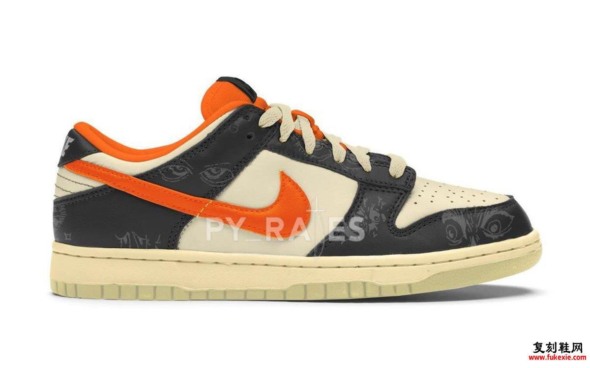 Nike Dunk Low Halloween DD0357-100发售日期