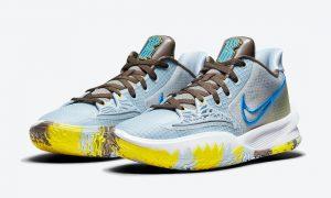 Nike Kyrie Low 4 Light Armory Blue CW3985-400发售日期