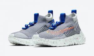 Nike Space Hippie 02灰蓝色CQ3988-003发售日期信息