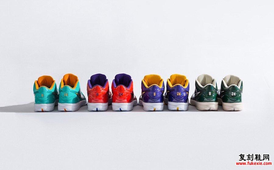不败的Nike Kobe 4 Protro 2021发售日期信息