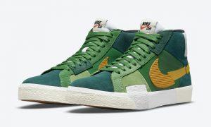 Nike SB Blazer Mid Mosaic DA8854-300发售日期