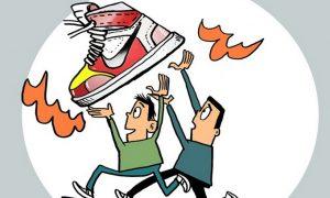"""炫耀""""莆田鞋""""称自己""""支持国货""""?真心爱国就别再以支持假货为荣"""