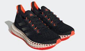 adidas 4DFWD黑色太阳能红FY3963发售日期