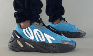 adidas Yeezy Boost 700 MNVN Bright Cyan GZ3079场内