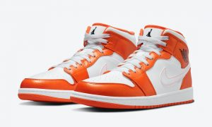 Air Jordan 1 Mid White Orange DM3531-800发售日期