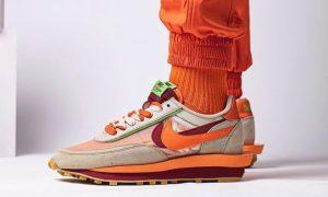 Clot Sacai Nike LDWaffle DH1347-100发售日期