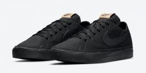 Nike Court Legacy Canvas Black DJ1972-001 发售日期信息