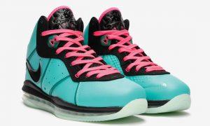 Nike LeBron 8 South Beach CZ0328-400 2021发售日期