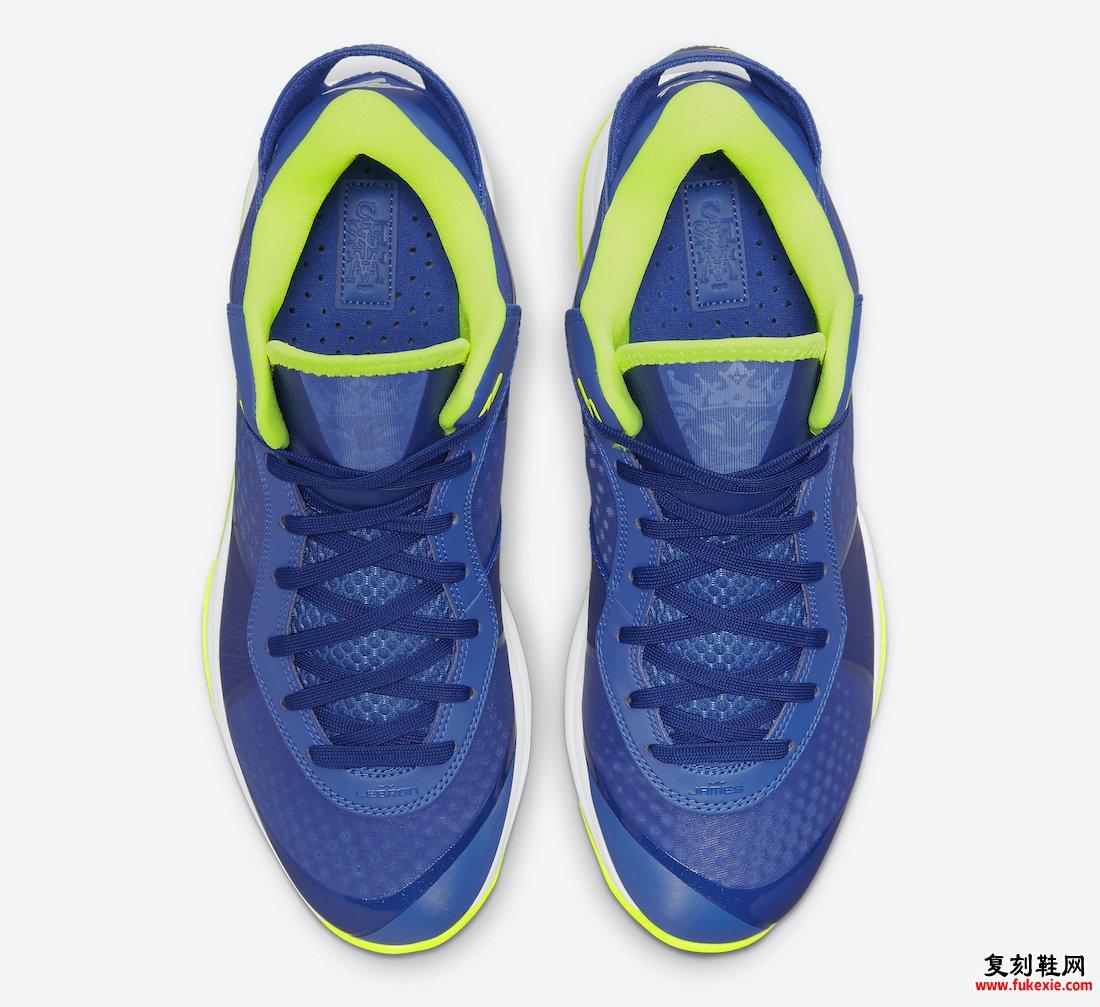 耐克 LeBron 8 V2 Low Sprite 2021 DN1581-400 发布日期