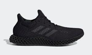 adidas Futurecraft 4D Triple Black Q46228 发布日期信息