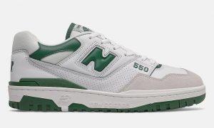 New Balance 550 白绿 BB550WT1 发布日期信息