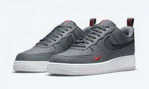 Nike Air Force 1 Low Grey Red DN4433-001 发布日期信息