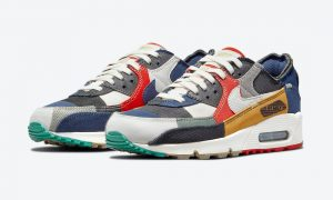 Nike Air Max 90 Scrap DJ4878-400 发布日期
